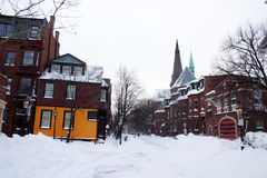 Archivbild von Boston-Winter Stockfotografie