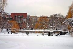 Archivbild von Boston-Winter Lizenzfreies Stockfoto