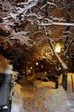 Archivbild von Boston-Winter, Boston, USA Lizenzfreie Stockfotos