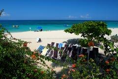 Archivbild von Cave Beach Club, Montego Bay, Jamaika Doktors Lizenzfreies Stockbild
