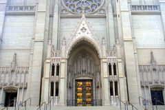 Archivbild von Grace Cathedral, San Francisco, USA Stockfoto