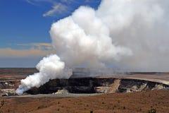 Archivbild von Hawaii-Vulkanen Nationalpark, USA Lizenzfreie Stockfotos