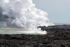 Archivbild von Hawaii-Vulkanen Nationalpark, USA Stockfotografie