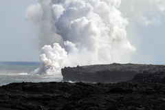 Archivbild von Hawaii-Vulkanen Nationalpark, USA Lizenzfreies Stockbild