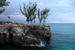 Archivbild von Negril bei Jamaika Stockfoto