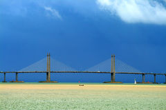 Archivbild von Penang-Brücke, Malaysia Stockbild