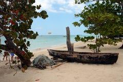 Archivbild von Stränden bei Negril, Jamaika Lizenzfreies Stockbild