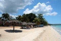 Archivbild von Stränden bei Negril, Jamaika Stockfoto
