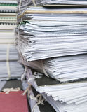Archivdateien Lizenzfreies Stockbild