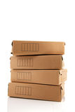 Archive boxes Royalty Free Stock Photos