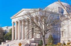 Archive des Amerikaners Art Museum im Washington DC USA lizenzfreie stockfotos