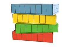 Archive File Boxes royalty free stock photo