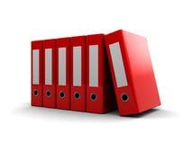 Archive folders Stock Photo