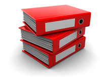Archive folders Royalty Free Stock Photography