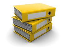 Archive folders Stock Photo