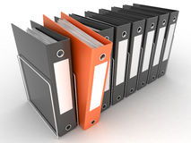 Archive folders Royalty Free Stock Images