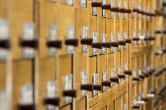 Archive Library Royalty Free Stock Photos