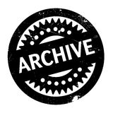 Archive rubber stamp Stock Photography