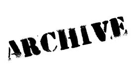 Archive rubber stamp Stock Photo