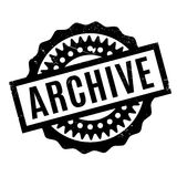 Archive rubber stamp Stock Photos