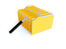 Archive search Royalty Free Stock Photo