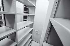 Archive storage units Stock Images