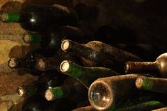 Archive wine Royalty Free Stock Images