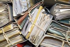 Archives de papier # 3 Photographie stock libre de droits