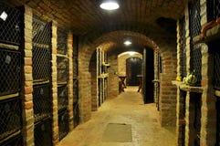 Archives de vin photos stock