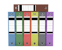 Archives - Filing cabinets classic style Royalty Free Stock Photos