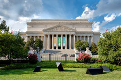 The Archives of the United States of America in Washington D.C. Stock Image