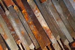 Archivi dell'officina su Rusty Background Fotografia Stock Libera da Diritti