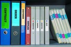 Archivi di affari Fotografia Stock
