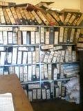 Archivi di sito grave Fotografia Stock