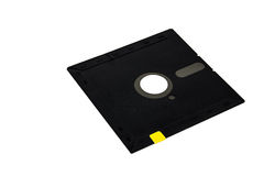 Archiviazione di dati magnetica a disco magnetico del computer Immagini Stock