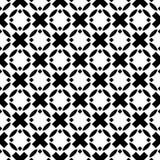 Archivio in bianco e nero di vettore del modello dei seamlesss royalty illustrazione gratis