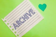 Archivio del testo di scrittura di parola Concetto di affari per le annotazioni dei documenti storici della raccolta che fornisco fotografie stock libere da diritti
