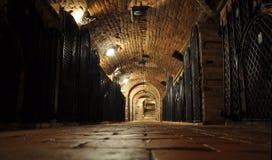 Archivio del vino Immagine Stock Libera da Diritti