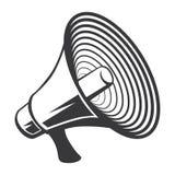 """Archivio dell'illustrazione delle azione del †dell'illustrazione delle azione """"del †di vettore """"del corno dell'altoparlante illustrazione vettoriale"""