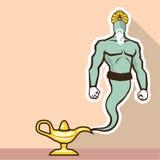 Archivio di Genie Vector royalty illustrazione gratis
