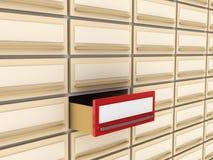 Archivio di scheda particolare Fotografie Stock