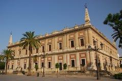 Archivo General DE Indias, Sevilla Stock Afbeeldingen