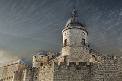 Archivo Simancas Castle, Spain Royalty Free Stock Photo