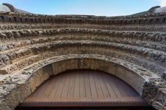 Archivoltes romanes Image stock