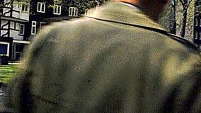 Archiwalny podwórze wierza Londyn kasztel zdjęcie wideo