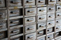 archiwizujący fotografia stock