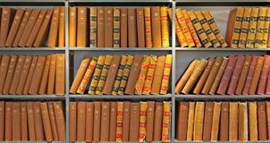 Archiwum stare probate książki zdjęcie royalty free