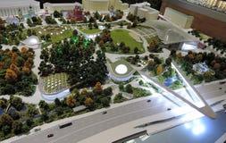 ArchMoscow XIII mostra dell'internazionale di architettura e di progettazione Immagini Stock
