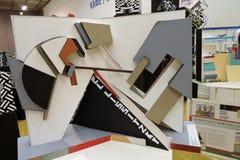 ArchMoscow XIII mostra dell'internazionale di architettura e di progettazione Fotografia Stock Libera da Diritti
