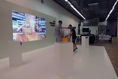 ArchMoscow XIII mostra dell'internazionale di architettura e di progettazione Immagine Stock Libera da Diritti